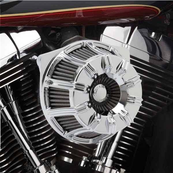 Arlen Ness Inverted Series 10-Gauge Chrome Air Cleaner Kit - 18-942 | |  Hot Sale