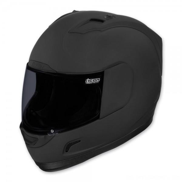 ICON Alliance Dark Full Face Helmet - 0101-6645 | |  Hot Sale