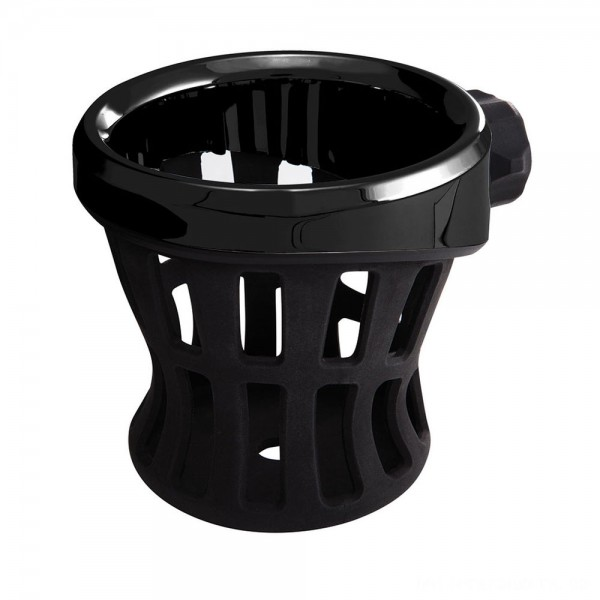 Ciro Black Drink Holder With Perch Mount - 50611      Hot Sale