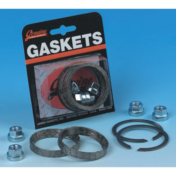 Genuine James Exhaust Gasket Kit with Tapered Profile Gaskets - JGI-65324-83-KWG2      Hot Sale
