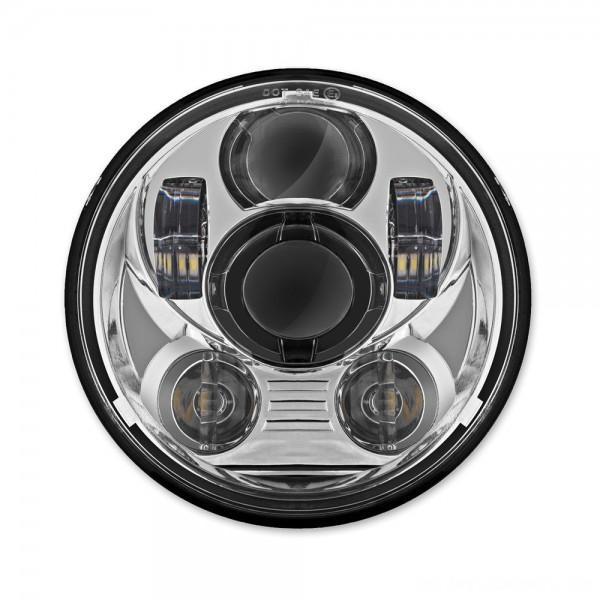 HogWorkz 5-3/4″ Chrome LED Daymaker V2 Headlight - HW195024 | |  Hot Sale