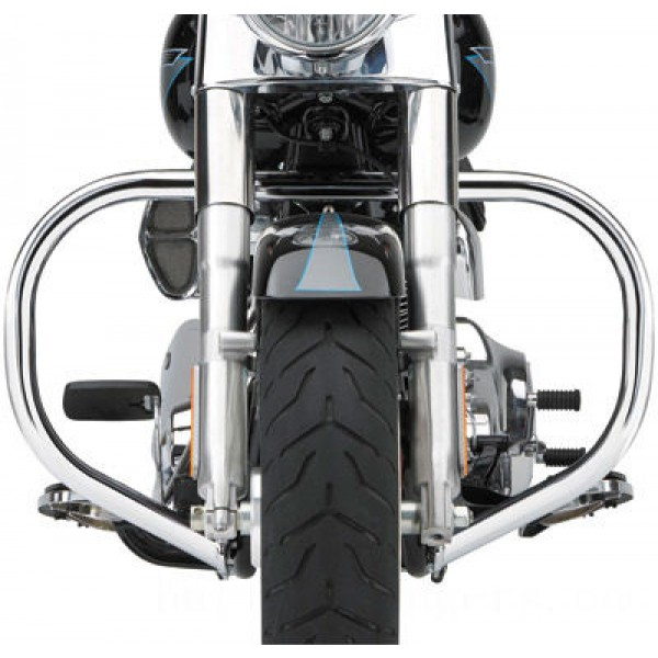 "Cobra Standard Chrome 1-1/4"" Freeway Bars - 601-2101      Hot Sale"