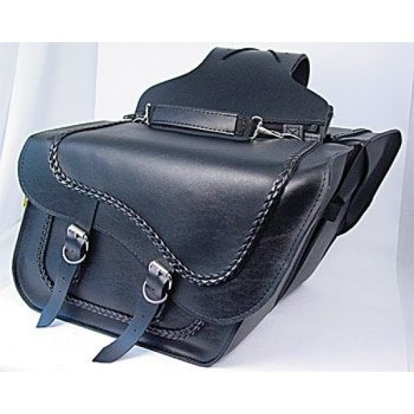 Willie & Max Braided Collection Slant Saddlebags - SB709-05 | |  Hot Sale