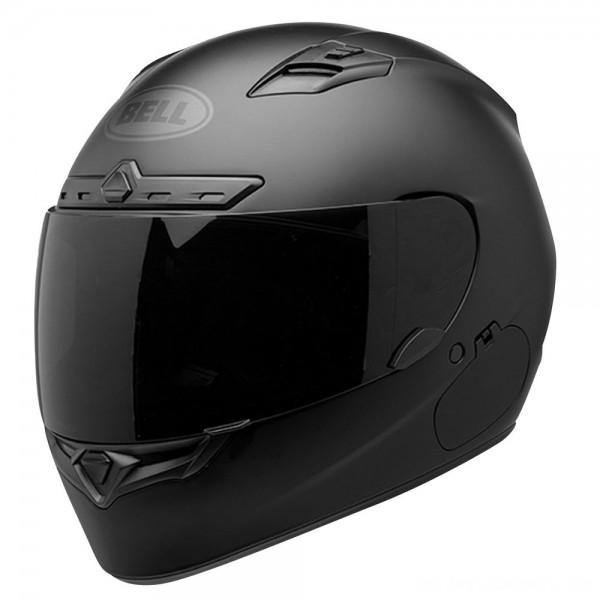 Bell Qualifier DLX Blackout Matte Black Full Face Helmet - 7085216 | |  Hot Sale