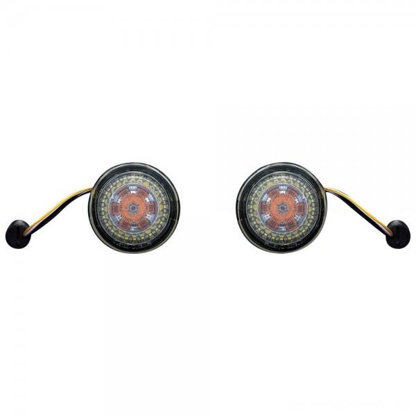 Custom Dynamics ProBEAM Amber/White Dynamic Ringz with Smoke Lens - PB-AW-1157 | |  Hot Sale