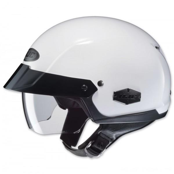 HJC IS-Cruiser Solid White Half Helmet - 0824-0109-06 | |  Hot Sale