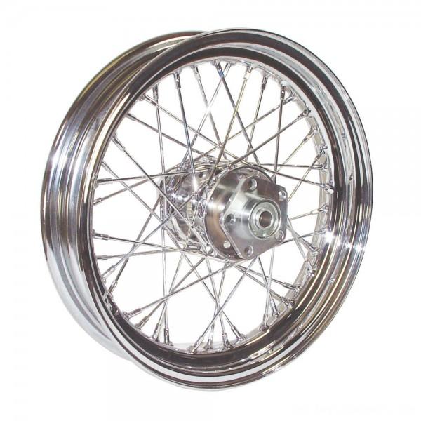 "V-Factor Complete 40 Spoke Chrome Rear Wheel, 16 x 3"" - 51645 | |  Hot Sale"