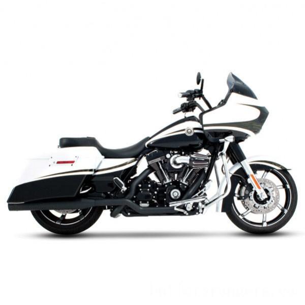Rinehart Racing Xtreme True Duals Exhaust 4″ Mufflers Black with Black End Caps - 100-0201      Hot Sale