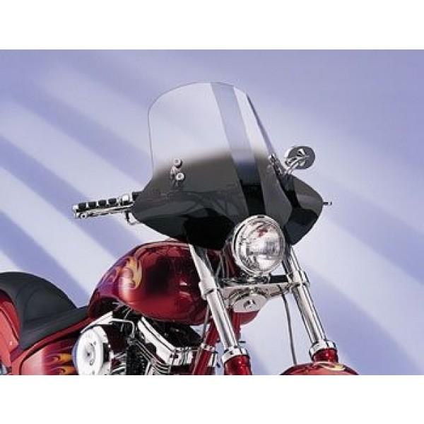 Memphis Shades Demon Gradient Black Handlebar Mount Windshield - MEM2211      Hot Sale