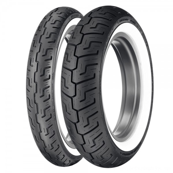 Dunlop D401 150/80B16 Wide Whitewall Rear Tire - 45064563 | |  Hot Sale