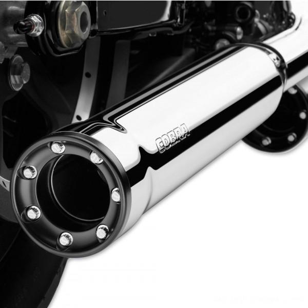 "Cobra 3"" RPT Slip On Mufflers Chrome - 6070      Hot Sale"