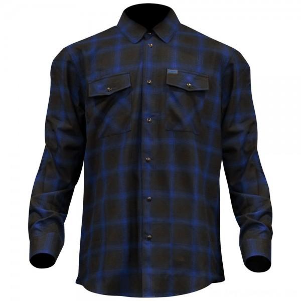 Dixxon J&P Cycles Men's The Shiner Flannel - JPBLUE-MENS-LG      Hot Sale