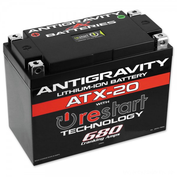 Antigravity RE-START Lithium Ion Battery - AG-ATX20-RS      Hot Sale