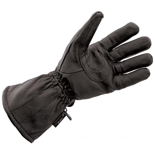 J&P Cycles Black Deerskin Waterproof Gloves - NG828TLWP-L | |  Hot Sale