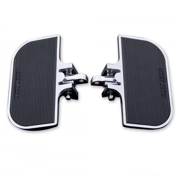 J&P Cycles Universal Chrome Mini-Floorboards      Hot Sale