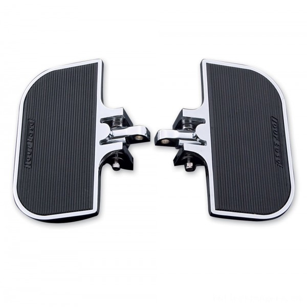 J&P Cycles Universal Chrome Mini-Floorboards | |  Hot Sale