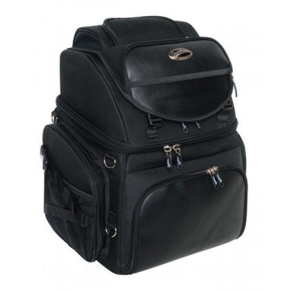 Saddlemen BR3400 Backrest Seat and Sissybar Bag - 35150107      Hot Sale