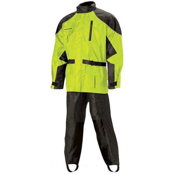Nelson-Rigg AS-3000 Aston Hi Visibility 2-piece Rain Suit - AS3000HVY03LG | |  Hot Sale