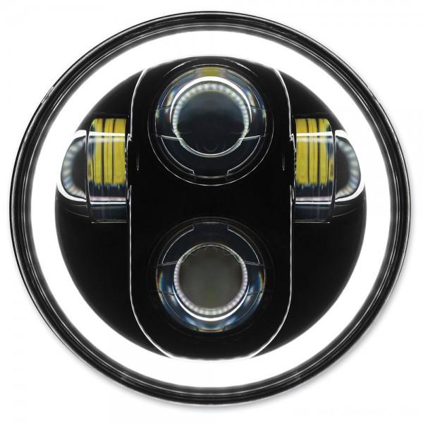 HogWorkz 5-3/4″ LED Blackout HaloMaker Headlight - HW195018 | |  Hot Sale