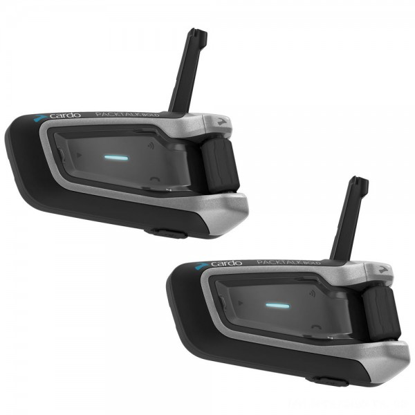 Cardo PackTalk Bold with JBL Audio Duo Bluetooth Communication System - PTB00101      Hot Sale