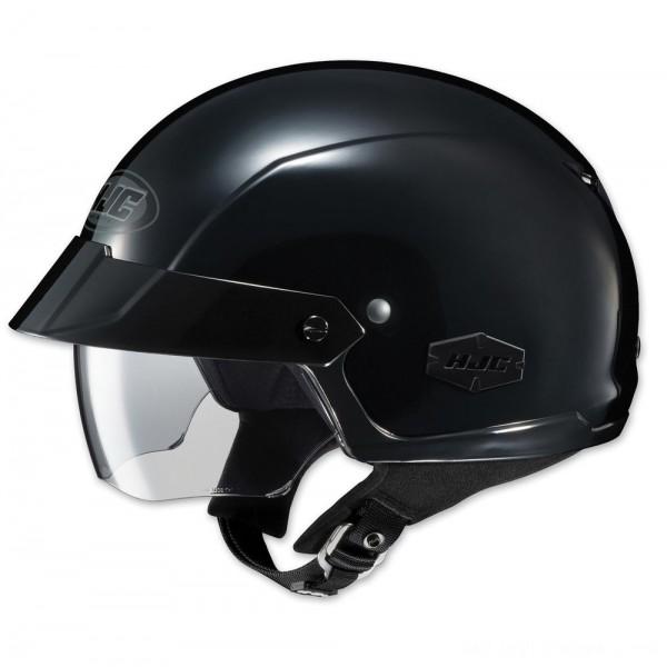 HJC IS-Cruiser Solid Black Half Helmet - 0824-0105-06 | |  Hot Sale