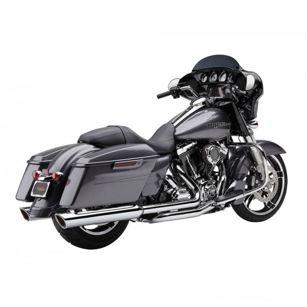 Cobra 909 Twins Chrome Slip-On Mufflers - 6106 | |  Hot Sale