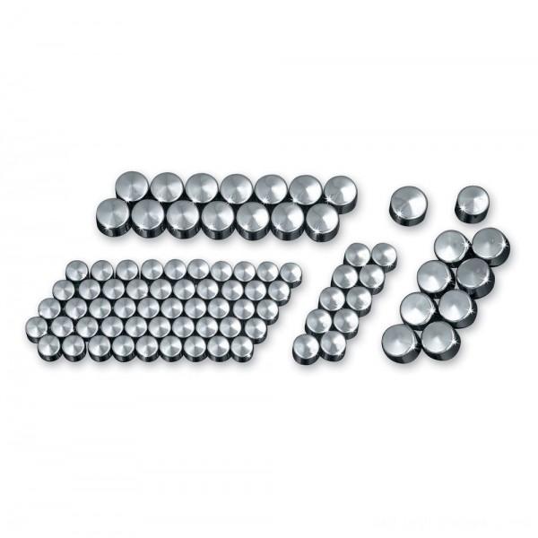 Kuryakyn Chrome Kool Kaps Engine Kit - 2450 | |  Hot Sale