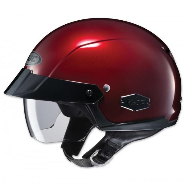 HJC IS-Cruiser Metallic Wine Half Helmet - 0824-0111-06      Hot Sale