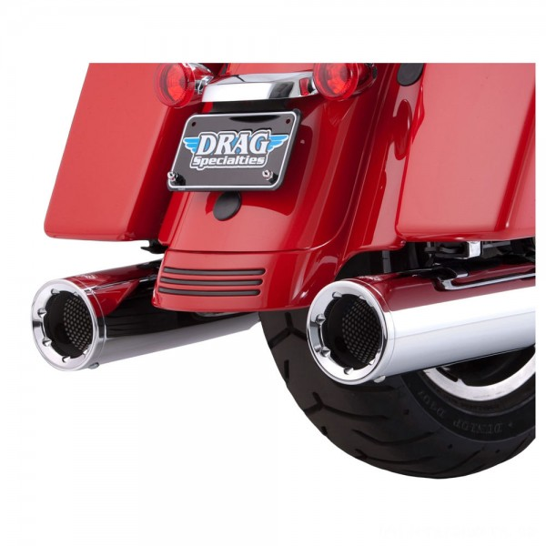 Vance & Hines Hi Output Slip Ons Chrome with Chrome End Caps - 16455      Hot Sale