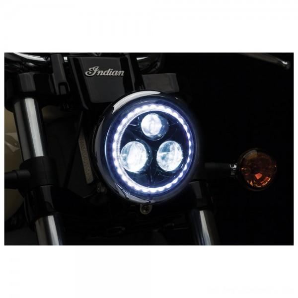 "Kuryakyn Orbit Vision 5 3/4"" LED Headlight - 2462 | |  Hot Sale"