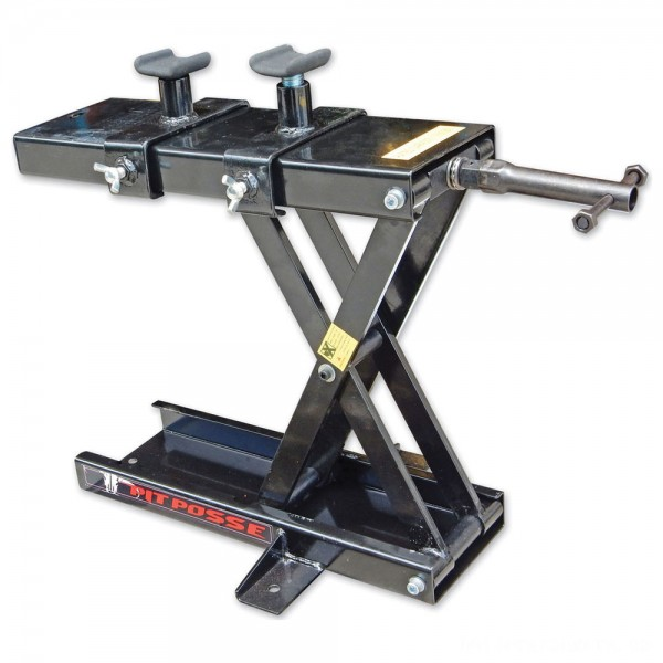 Pit Posse Motorsports Scissor Jack with Adapters - PP3277 | |  Hot Sale