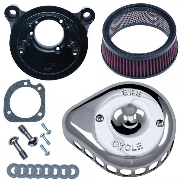 S&S Cycle Mini Teardrop Stealth Air Cleaner Chrome - 170-0449 | |  Hot Sale