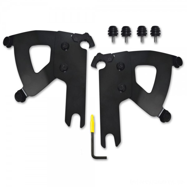 Memphis Shades Road Warrior Faring Black Trigger Lock Mount Kit - MEB2040 | |  Hot Sale