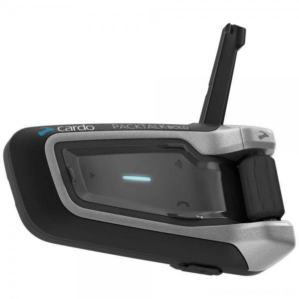Cardo PackTalk Bold with JBL Audio Single Bluetooth Communication System - PTB00001      Hot Sale