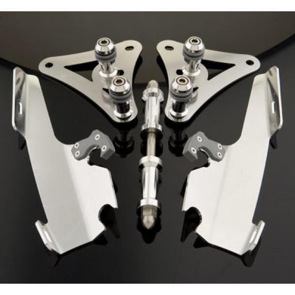 Memphis Shades Fats/Slims Polished Trigger Lock Mount Kit - MEM8974 | |  Hot Sale