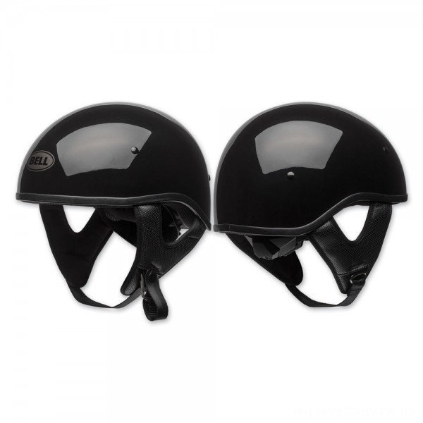 Bell Pit Boss Sport Gloss Black Half Helmet - 7080701      Hot Sale