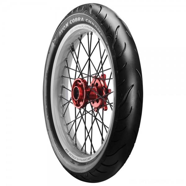 Avon AV91 Cobra Chrome MH90-21 Front Tire - 2120194      Hot Sale