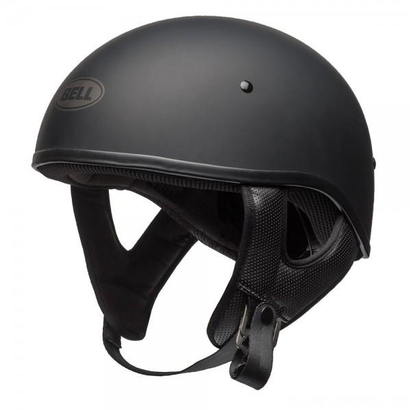 Bell Pit Boss Sport Matte Black Half Helmet - 7080705      Hot Sale
