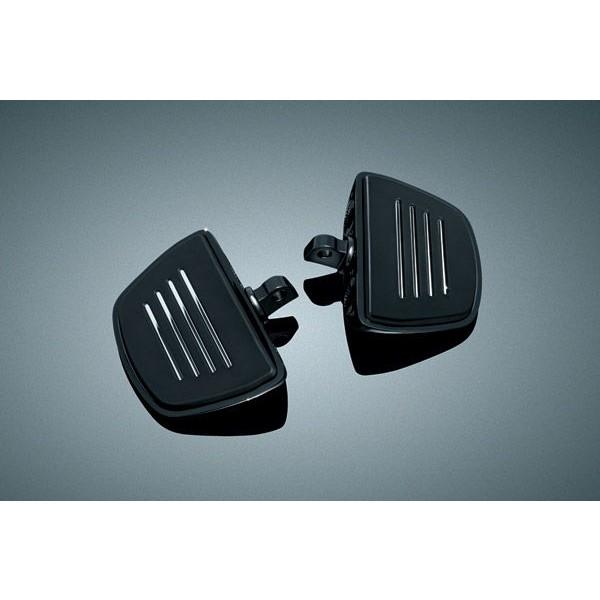 Kuryakyn Gloss Black Premium Mini Floorboard - 7578      Hot Sale