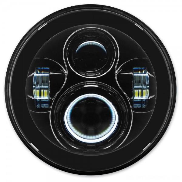 HogWorkz 7″ LED Black Daymaker Headlight Kit - HW195002      Hot Sale
