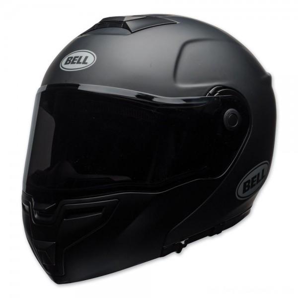 Bell SRT Matte Black Modular Helmet - 7092437 | |  Hot Sale