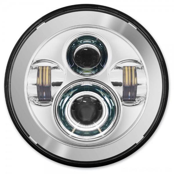 HogWorkz 7″ LED Daymaker Chrome Headlight Kit - HW195001      Hot Sale