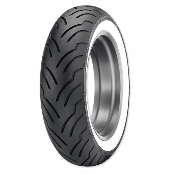 Dunlop American Elite MU85B16 77H Wide Whitewall Rear Tire - 45131529 | |  Hot Sale