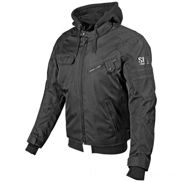 Speed and Strength Off the Chain Men's Stealth Textile Jacket - 877813      Hot Sale