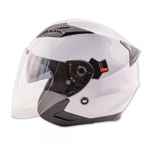 Zox Journey White Open Face Helmet - 88-33652 | |  Hot Sale