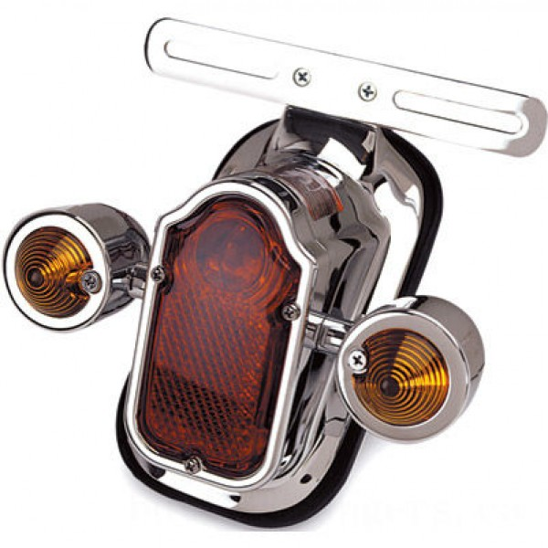 J&P Cycles Tombstone Taillight with Amber Turn Signals | |  Hot Sale