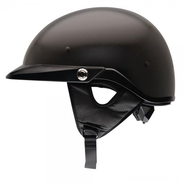 Bell Pit Boss Matte Black Half Helmet - 2033202 | |  Hot Sale