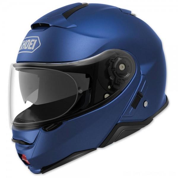 Shoei Neotec II Matte Blue Metallic Modular Helmet - 77-11924 | |  Hot Sale
