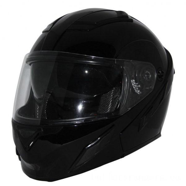 Zox Brigade SVS Gloss Black Modular Helmet - Z88-30704 | |  Hot Sale